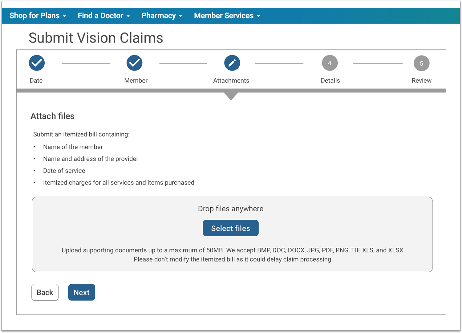 Premera Blue Cross: Simplified Health Insurance Claim